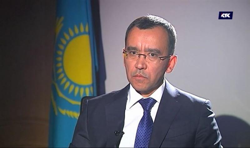 Маулен Ашимбаев, помощник президента