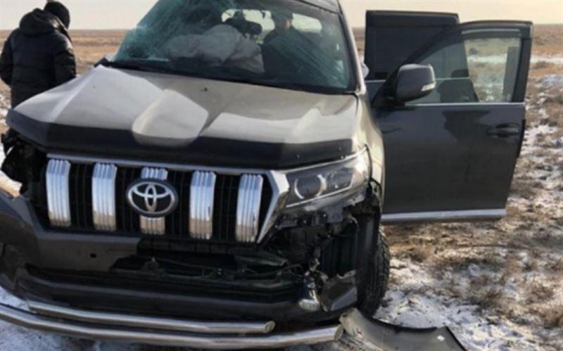 Руководители отделов «Казахмыса» стали жертвами аварии с поездом
