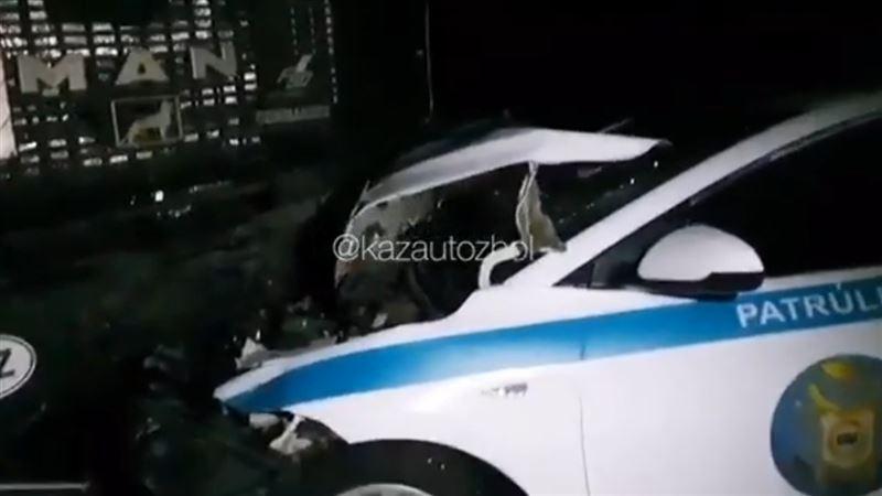 Авария на трассе Алматы ‒ Хоргос унесла жизни двоих человек