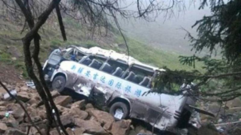 Автобус жардан құлап, 6 адам мерт болды