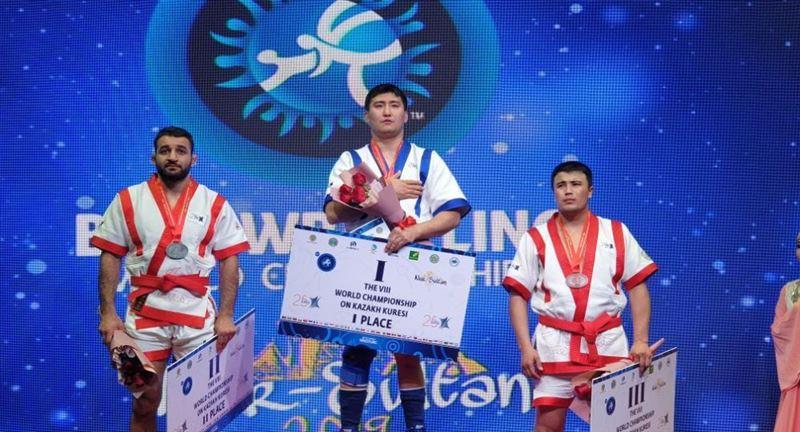 Қазақ балуаны әлем чемпионы атанды