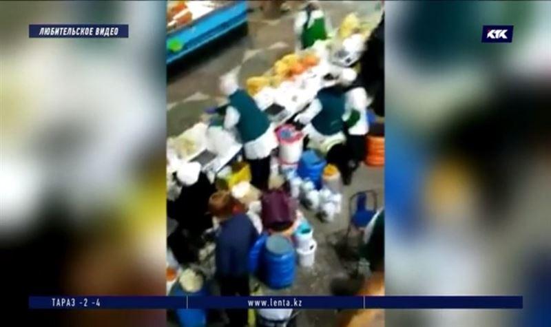 Продавцы молока на Зелёном базаре заплатят штраф