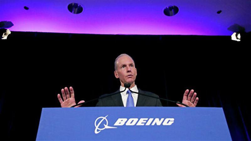 Глава Boeing заявил об уходе в отставку