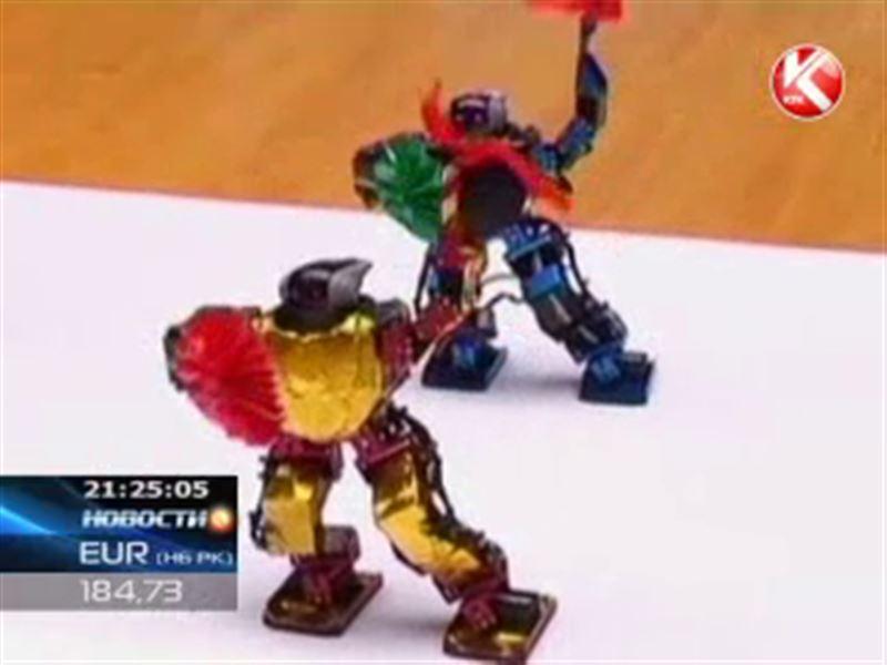 В Китае в пляс пустились роботы