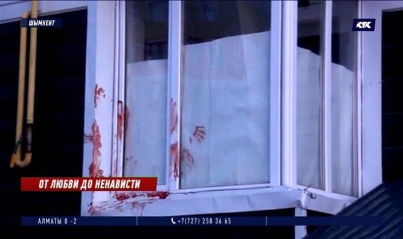 Житель Шымкента нанёс удары ножом супруге и перерезал горло себе