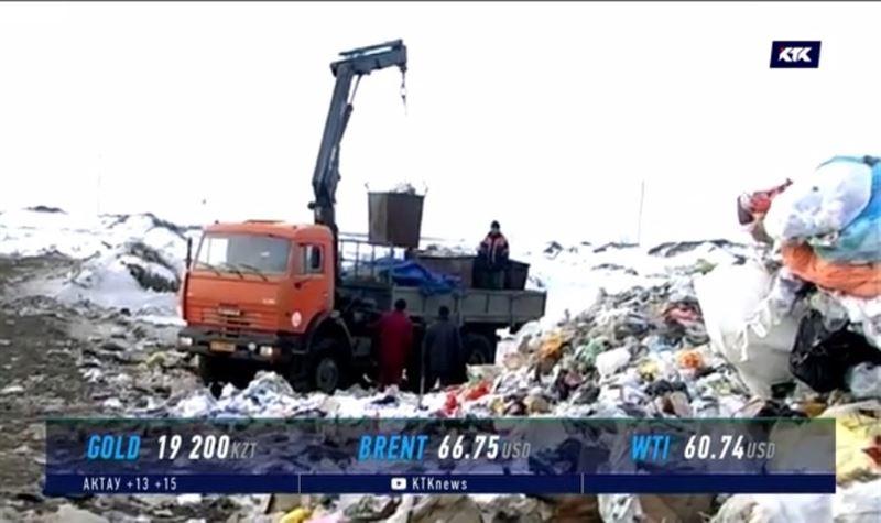 Вывоз мусора в Уральске подорожает на треть