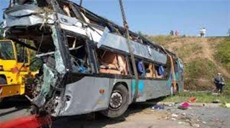 Шатқалға автобус құлап, 28 адам қаза тапты