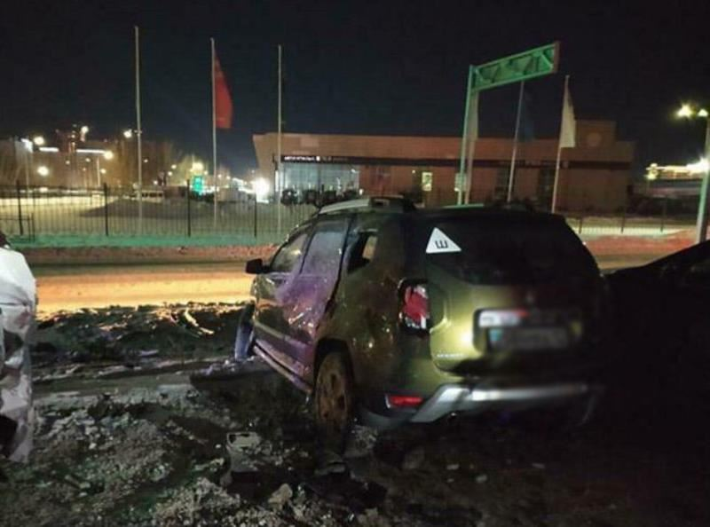 Пьяный водитель устроил массовую аварию в Караганде