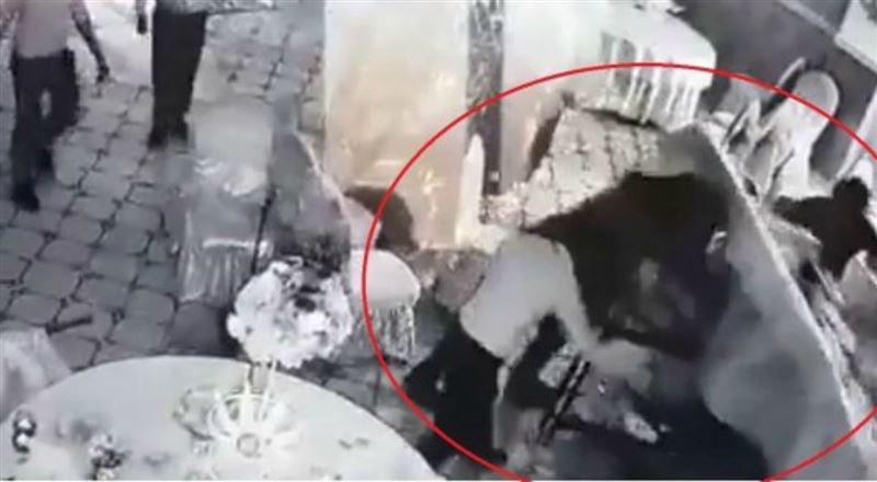 Алматы облысында төбелескен шенеуніктер видеоға түсіп қалған