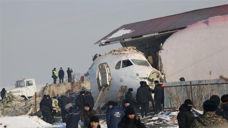 В Bek Air сделали заявление по поводу авиакатастрофы в Алматы