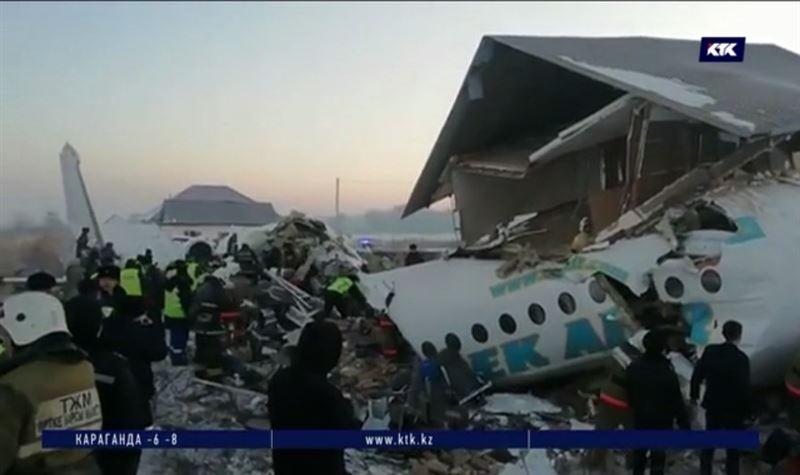 Репортёры КТК работают в зоне крушения самолёта Bek Air