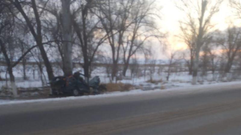 Авария со смертельным исходом произошла на трассе Алматы ‒ Ташкент