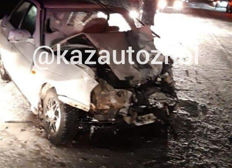 Лишенный прав мужчина стал причиной аварии на трассе Екатеринбург ‒ Алматы