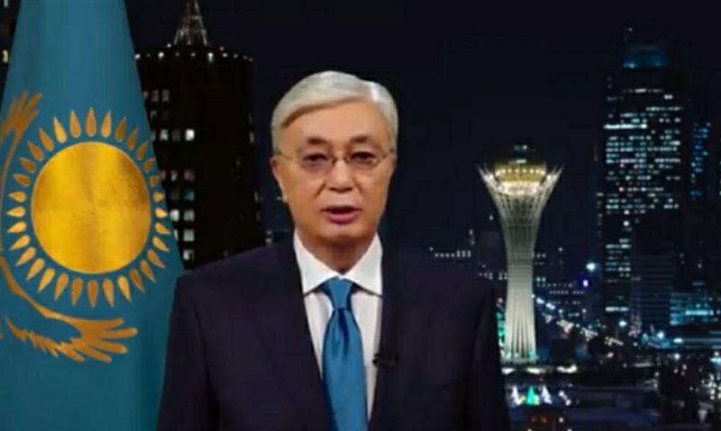 Глава государства Касым-Жомарт Токаев поздравил казахстанцев с Новым годом