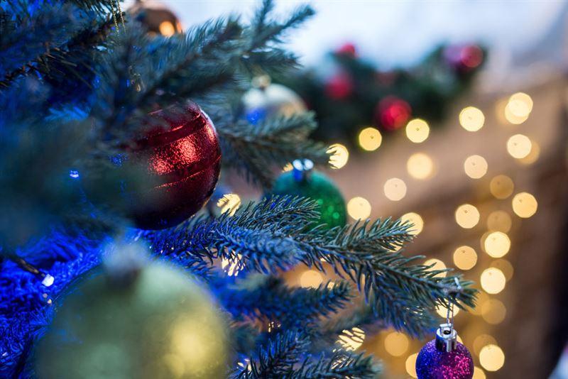 Новогодняя елка вспыхнула в селе в Мангистау