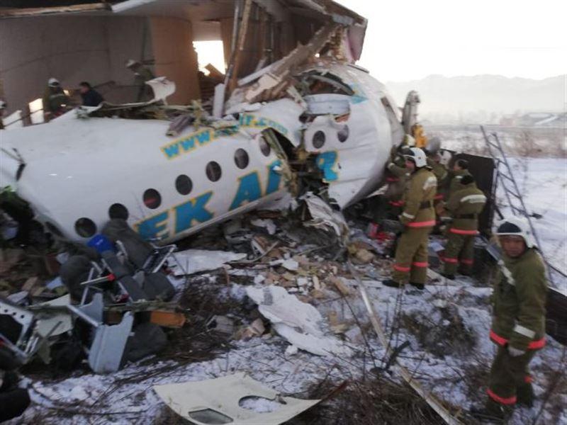 Неделя прошла с момента крушения самолета Bek Air близ Алматы