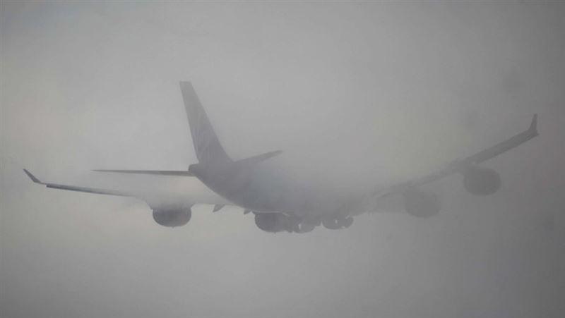 В аэропорту Алматы расписание рейсов могут изменить из-за тумана