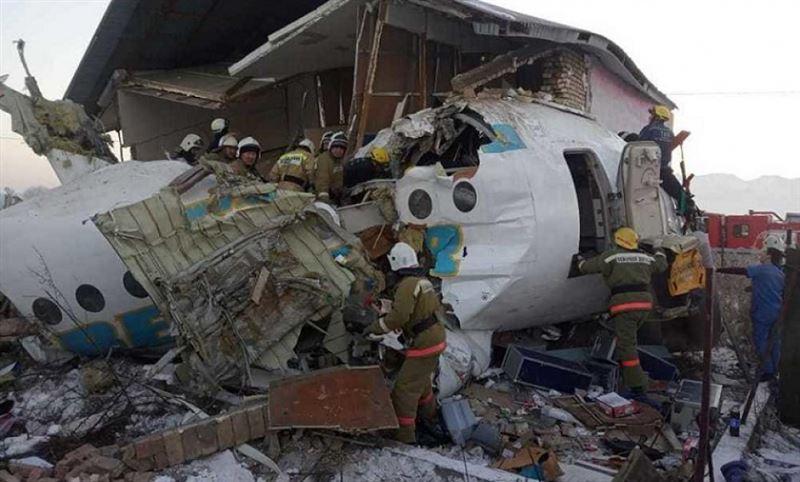 Второй пилот рухнувшего самолета Bek Air пришел в сознание