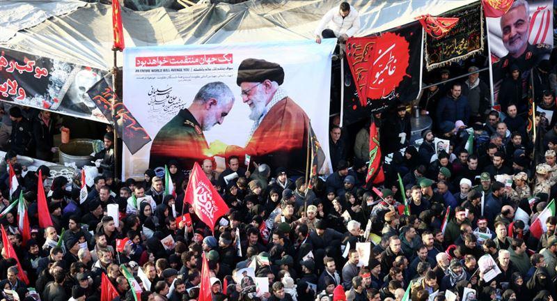СМИ: в Иране 35 человек погибли в давке при прощании с Сулеймани