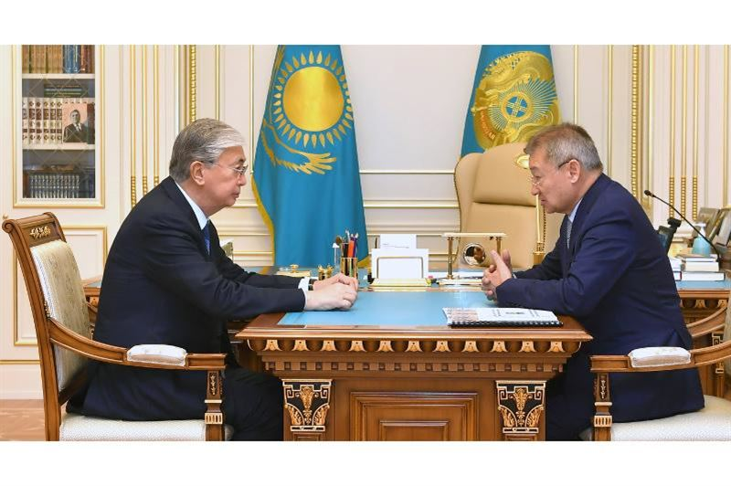 Касым-Жомарт Токаев принял акима Восточно-Казахстанской области Даниала Ахметова