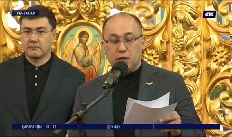 Министр елордалықтарды Рождество мерекесімен құттықтады