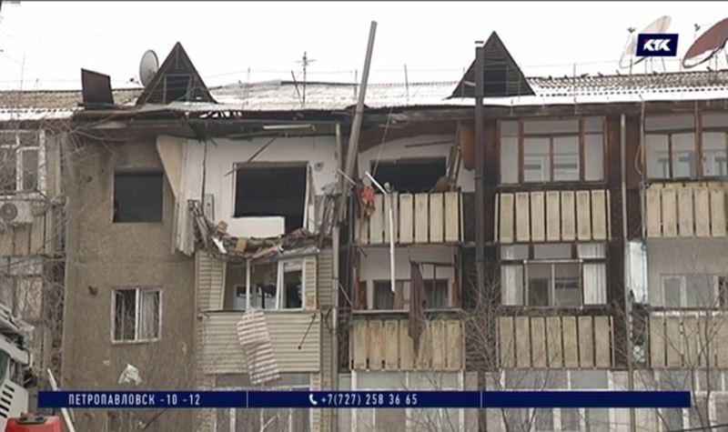 В пятиэтажном доме Каскелена произошёл взрыв газа, есть погибшие