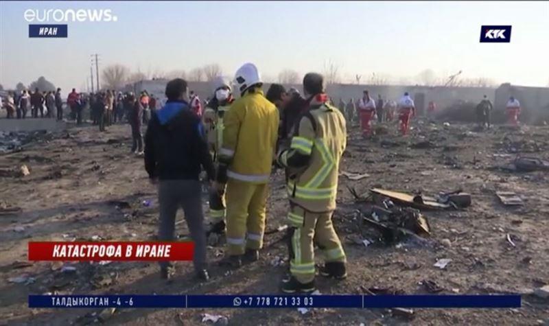 Граждане семи стран погибли в авиакатастрофе в Тегеране