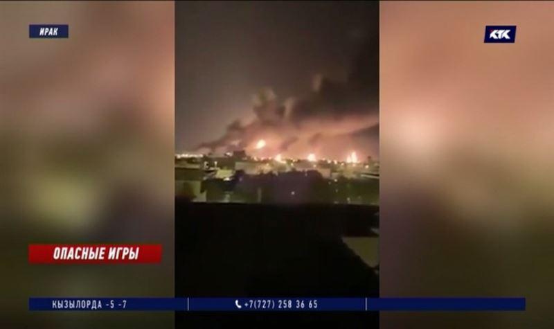 Иран выпустил 15 баллистических ракет по американским военным базам в Ираке