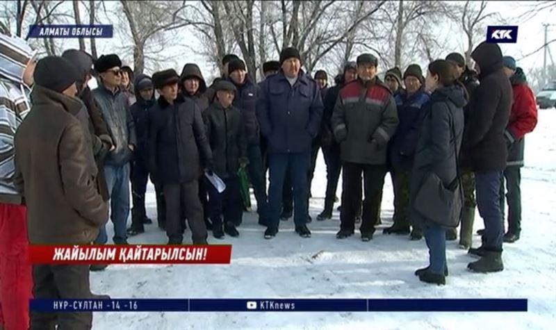 Жерді талан-таражға салып, жайылымсыз қалдырған әкімдерге талап қойылды – Алматы облысы