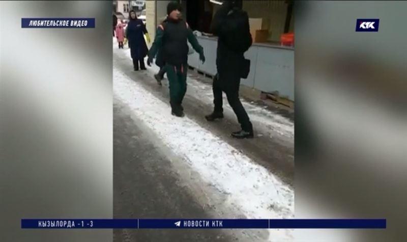 На алматинском рынке мужчина нанёс оппоненту удар ножом в живот