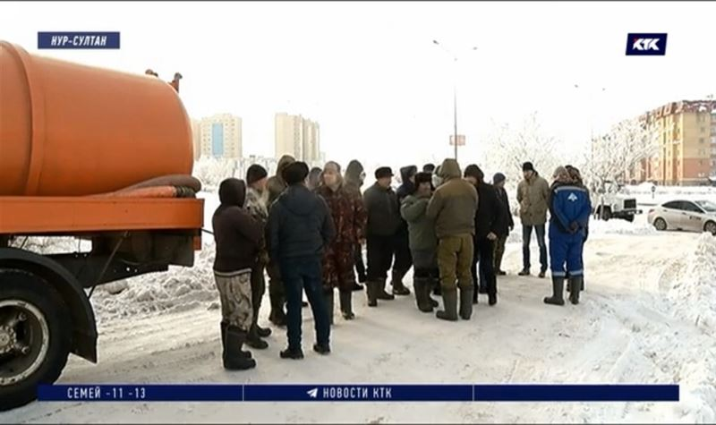 В частном секторе Нур-Султана грозит разлиться фекальное «половодье»