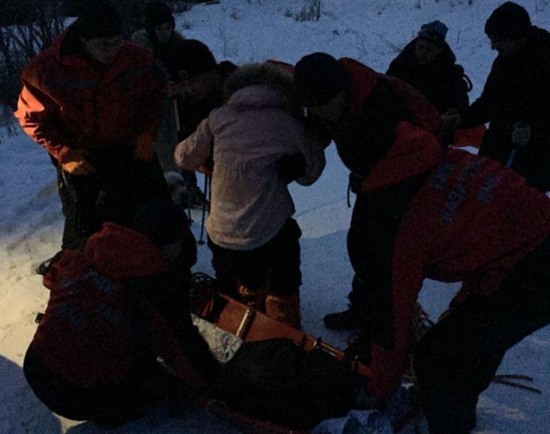 В горах Алматы туристка обморозила ноги из-за обуви