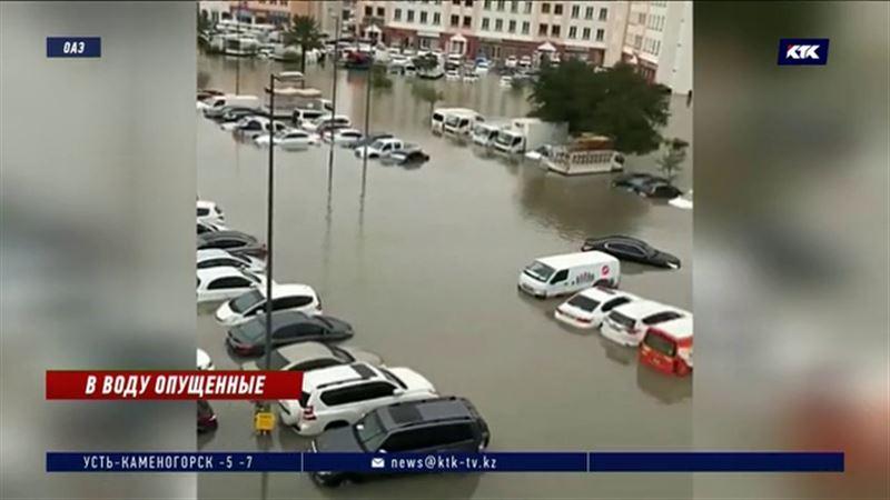 В Дубае остаются подтопленными сотни домов и учреждений