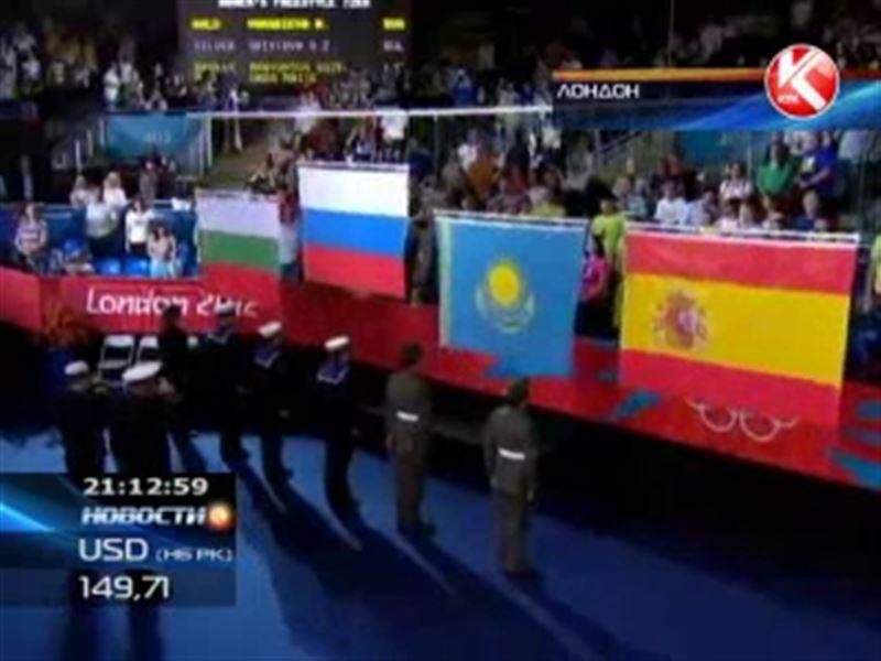 Девятую медаль для нашей страны выиграла в вольной борьбе Гюзель Манюрова