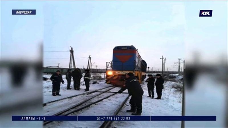 ЧП в Павлодаре: тепловоз раздавил человека