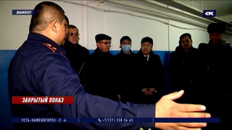 «Чтобы знали»: чиновникам Шымкента провели экскурсию по СИЗО