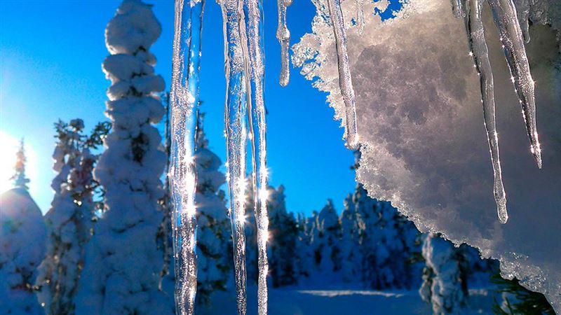 Аномально теплая погода ожидается в Казахстане на Крещение