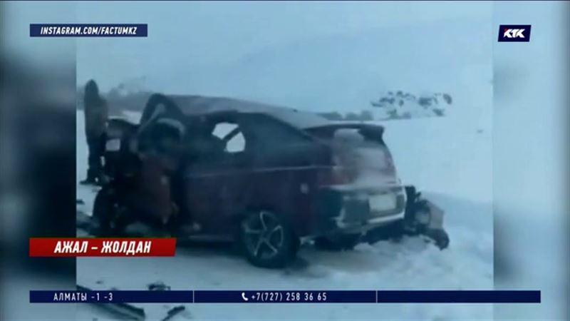 ШҚО: Қалбатау-Көкпекті жолында жантүршігерлік жол апаты болды.