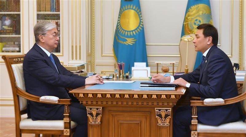 Касым-Жомарт Токаев принял акима столицы Алтая Кульгинова