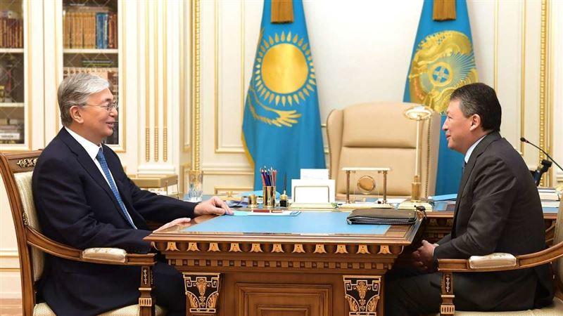 Мемлекет басшысы Құлыбаевті қабылдады