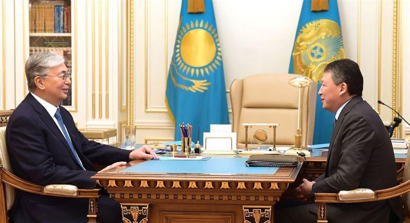 Президент принял председателя президиума НПП «Атамекен» Тимура Кулибаева