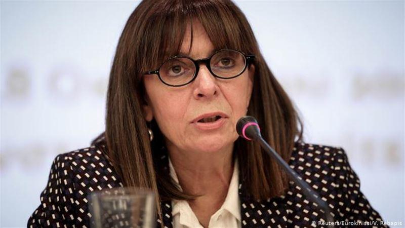 Главой Греции впервые в истории стала женщина