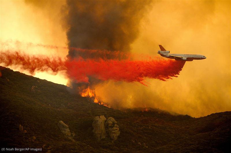 Власти Австралии потеряли связь с самолетом, тушившим лесные пожары