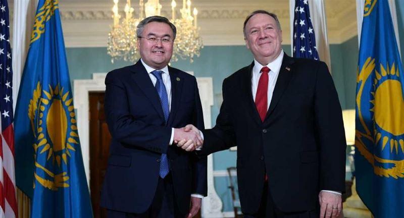 Когда госсекретарь США прибудет в Казахстан