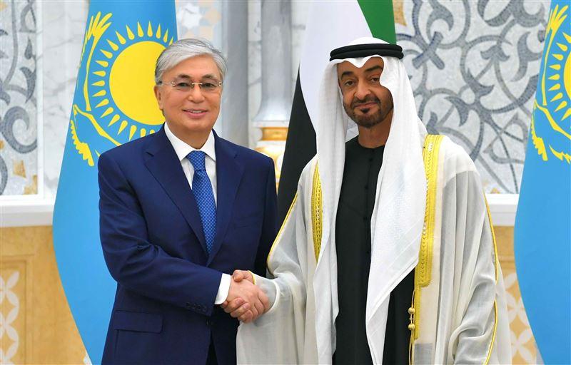 О чем разговаривали президент Казахстана и наследный принц Абу-Даби