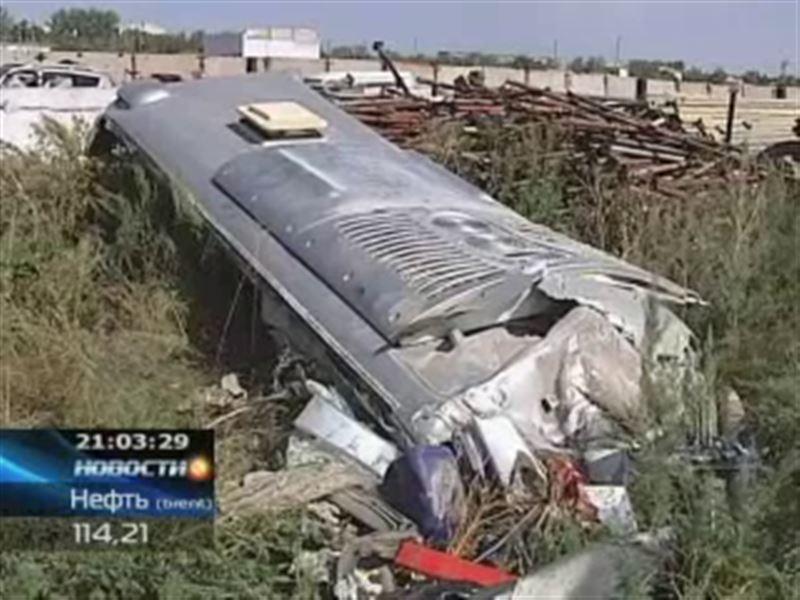 В автокатастрофе под Астаной погибли 16 человек