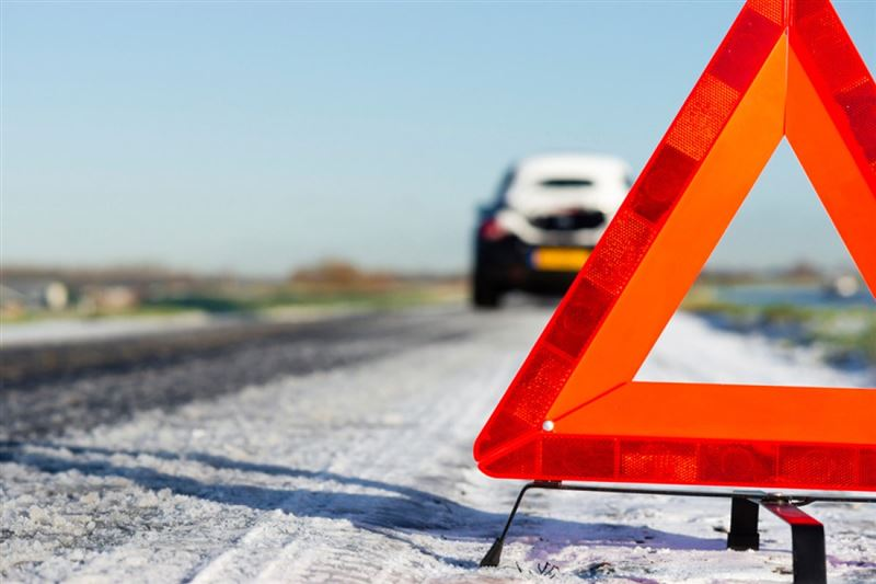 В Кокшетау лишенный прав водитель сбил человека