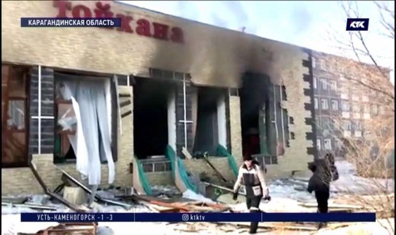 В тойхане Сатпаева взорвался газовый баллон, есть жертва
