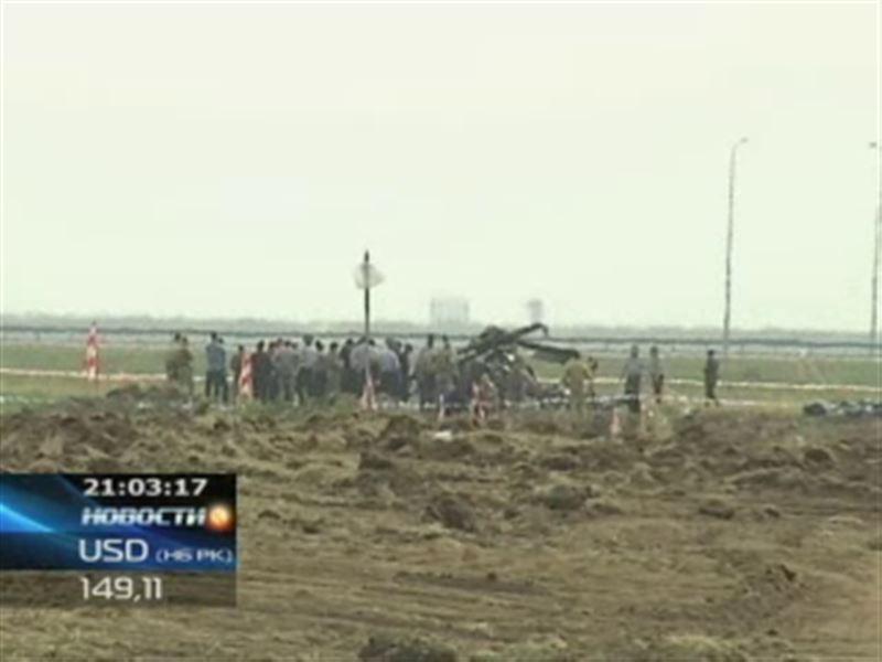 Рядом с Астаной разбился военный вертолет: погибли 4 человека