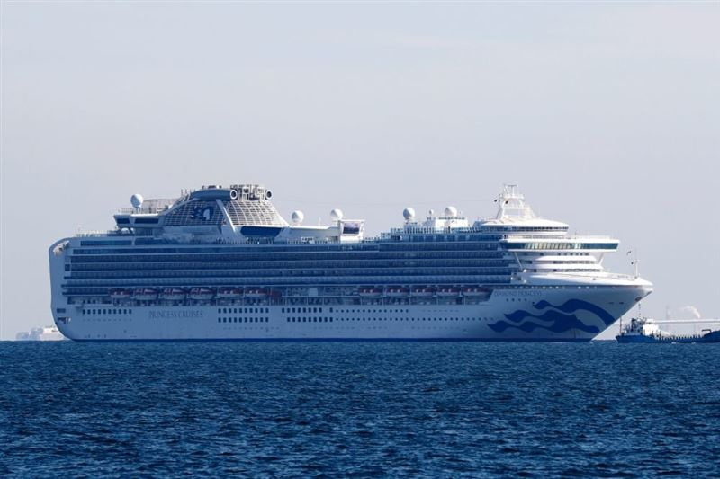 Коронавирус обнаружили у 10 человек на круизном лайнере в Японии